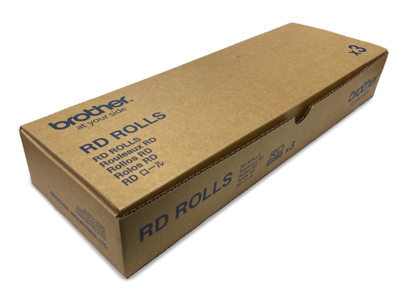 ブラザー RD-U08J1 40×40mmラベル TD-2130NSA対応【お取り寄せ商品】