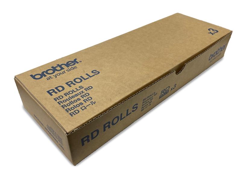 ブラザー RD-U09J1 30×30mmラベル TD-2130NSA対応【お取り寄せ商品】