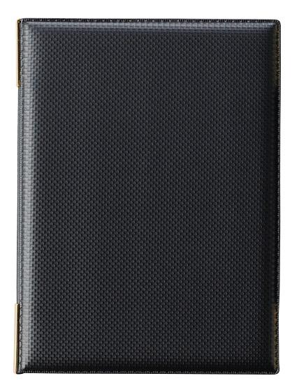 LB-933黒 えいむ メニューブック A5