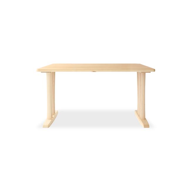 Maple Rich ダイニングテーブル(帆立脚)