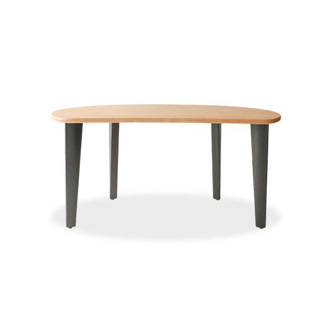 alba 変形ダイニングテーブル(4本脚)