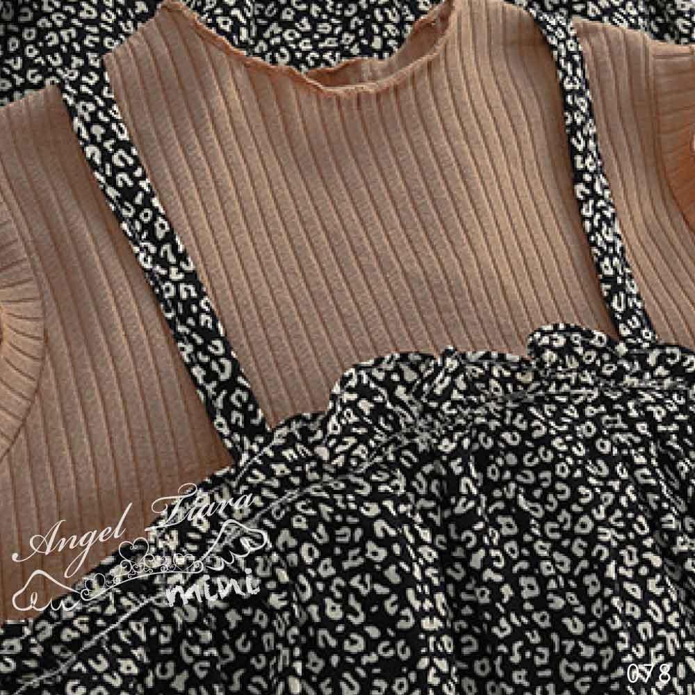 子供服 キッズ 女の子 ワンピース レオパード柄 豹柄 ノースリーブワンピース ワンピ 2色 夏 KG078