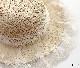 キッズ 子供用 女の子 雑貨 帽子 麦わら帽子 ワイヤー入り 麦わら ホワイト ブラウン ピンク  KGZ1012
