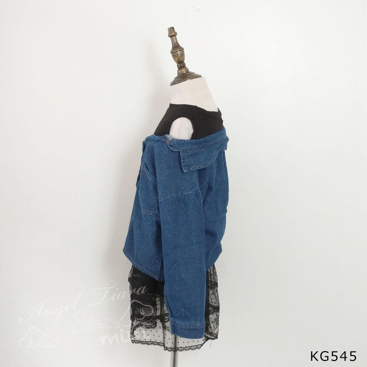 子供服 キッズ 女の子 長袖 シャツ 重ね着風 秋 冬 KG545