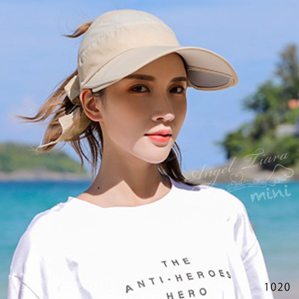 レディース 雑貨 サンバイザー ツバ広サンバイザー 帽子 日焼け対策 紫外線カバー おでかけ 運動 BBQ KGZ1020