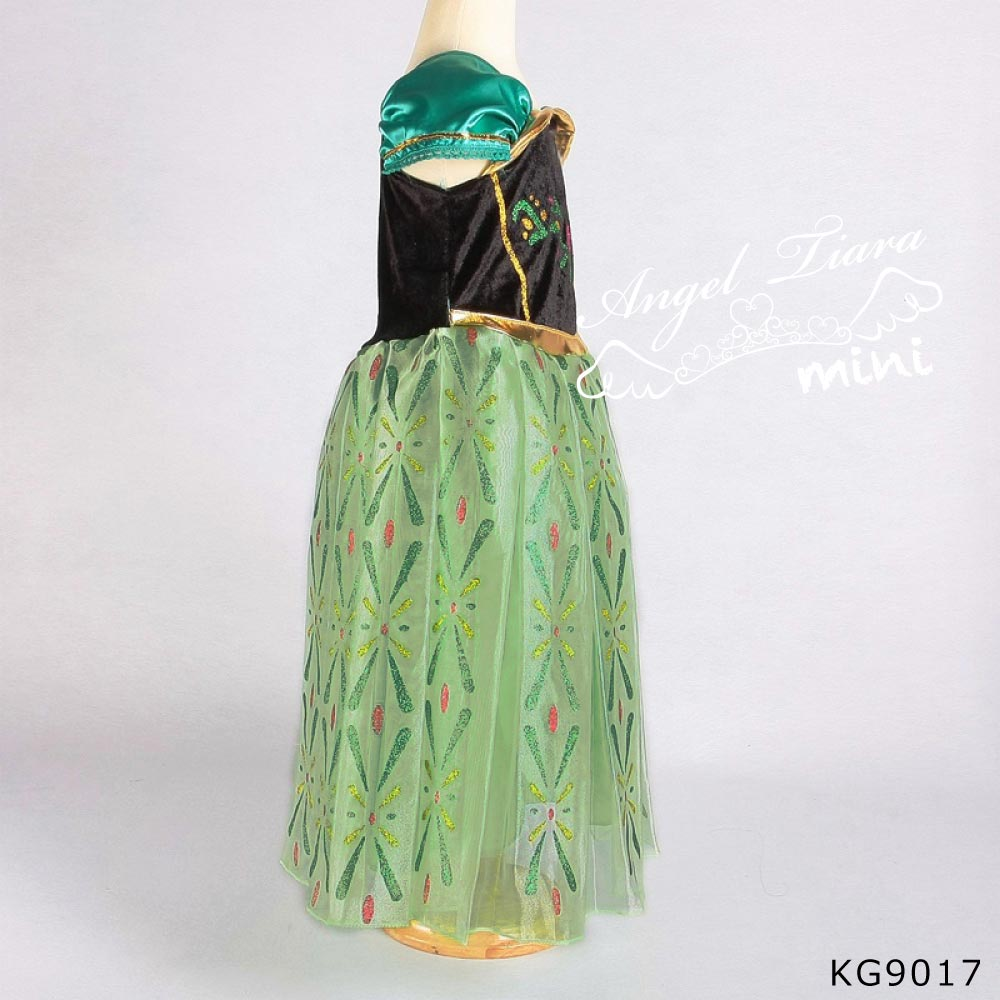 ハロウィン コスチューム アナと雪の女王 アナ 風 コスプレ 仮装 KG9017