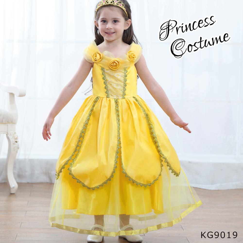 ハロウィン キッズ ジュニア 女の子 ドレス コスチューム KG9019
