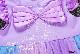 子供服 キッズ 女の子 ハロウィン 仮装 コスチューム コスプレ ドレス ワンピース マーメイド 人魚 パープルドレス チュールスカート KG9041s