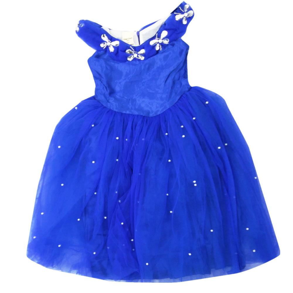 ハロウィン ドレス ロングドレス ブルー 発表会 イベント パーティー KG9039