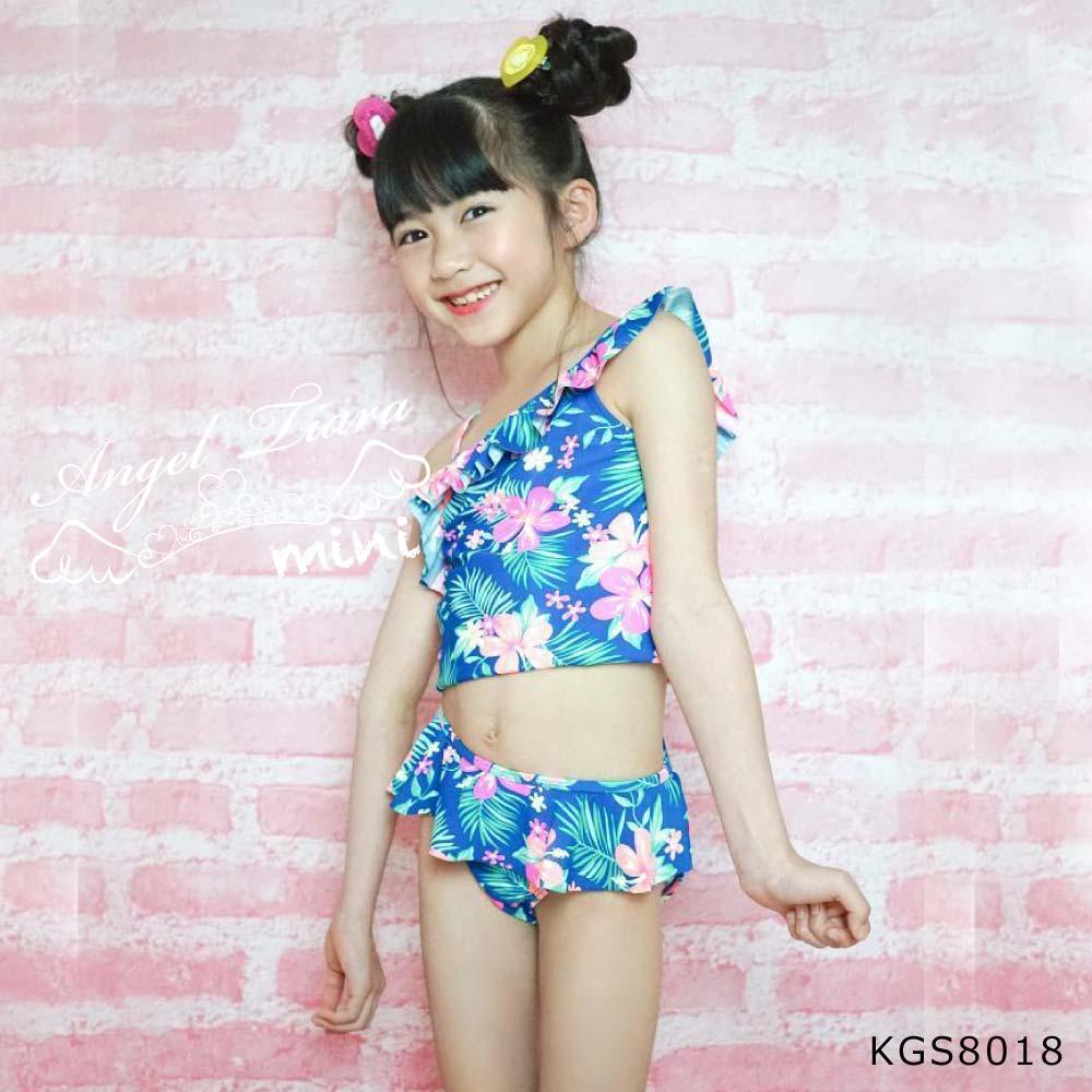子供 女の子 水着 セパレート KGS8018