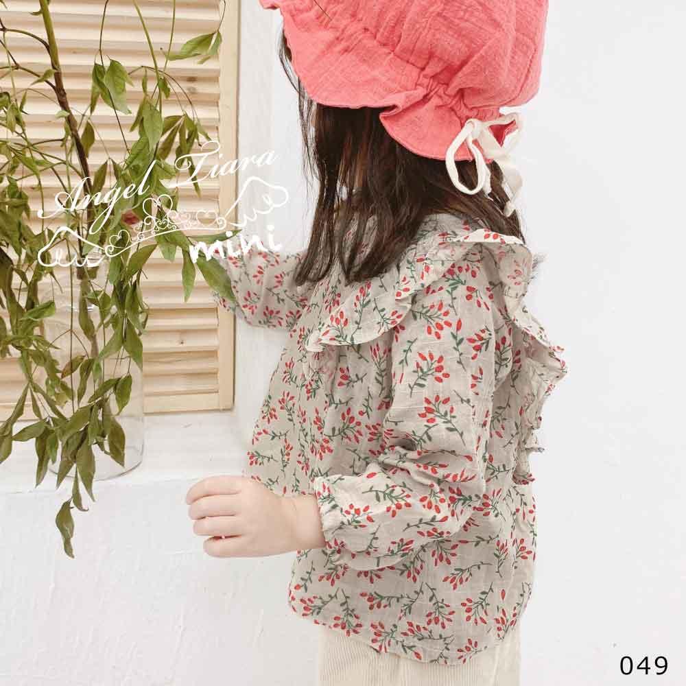 子供服 キッズ 女の子 トップス 長袖 花柄 小花 春 秋 KG049