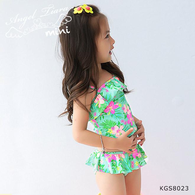 子供 女の子 水着 セパレート KGS8023