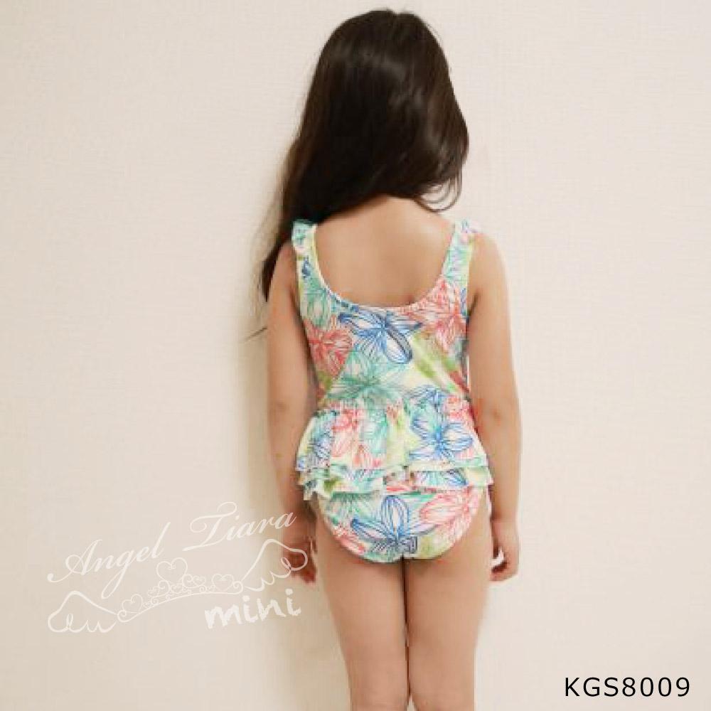 子供 女の子 水着 ワンピース 南国風 KGS8009