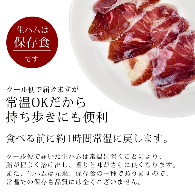 プチギフトセット イベリコ豚 生ハム 30ヶ月熟成 20g×5個 ラッピング付き 冷蔵 ※ 30ヵ月 20g×5 配るギフト