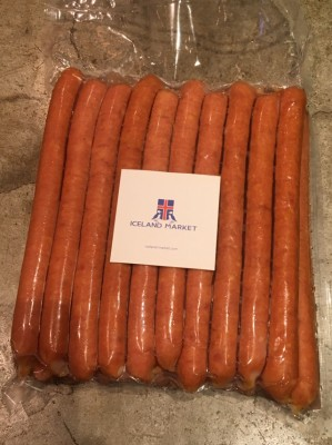 アイスランドラム肉ソーセージ