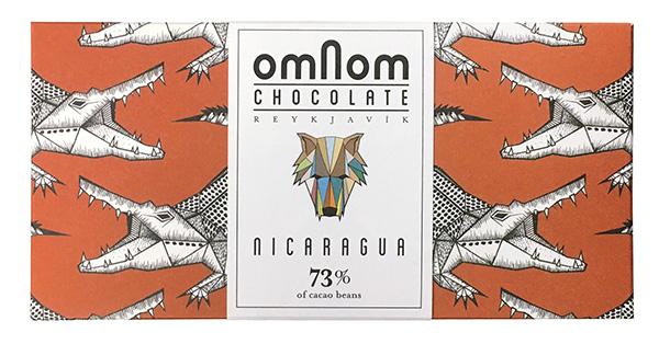 オムノムチョコレート ニカラグア73%