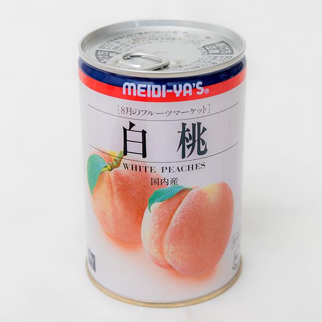 明治屋 白桃缶詰