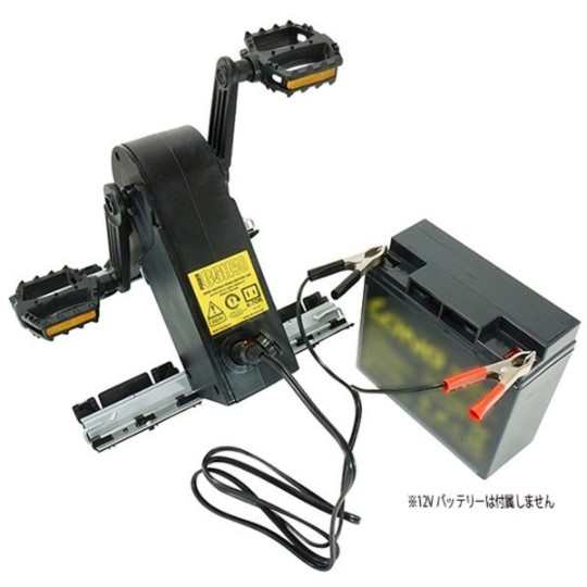K-TOR(ケーター):パワーボックス50 [Power Box50] 人力 発電機 ペダル式 充電 防災 停電 災害 ハイエンドモデル