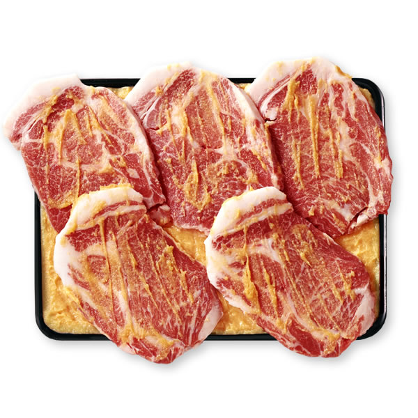 [WEB限定]【おうちでご飯セット】天恵美豚 麹みそ漬 5枚入 タコと筍の炊き込みご飯[WA-53]