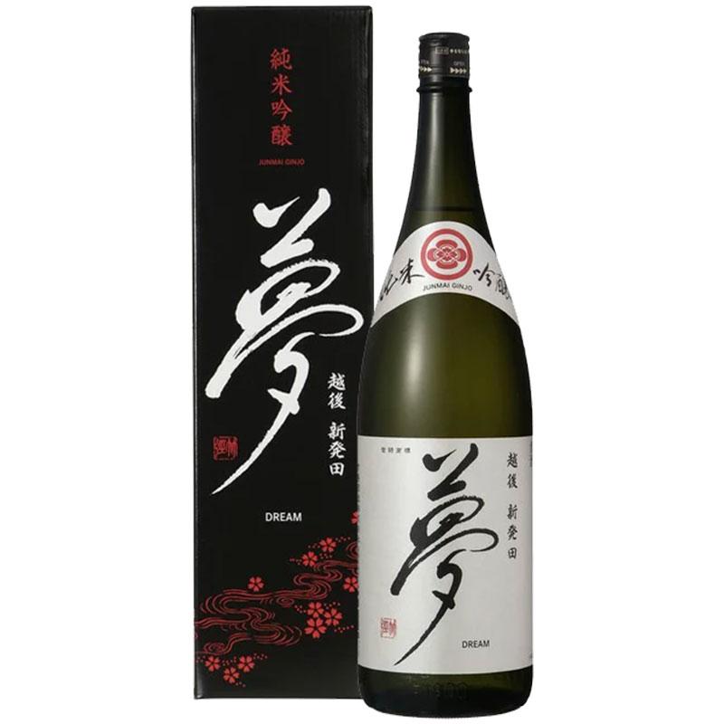 夢 純米吟醸 1800ml(箱入り)