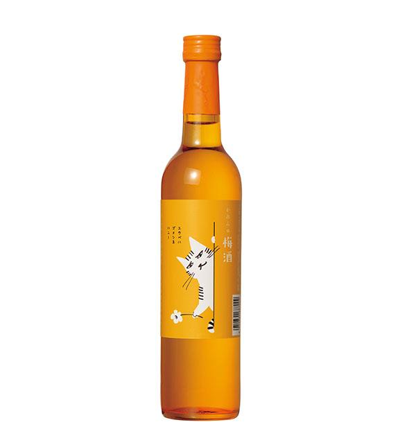 【冬ラベル】 かれん 梅酒 (ゴメンネハニー) 500ml アクリルケース入り