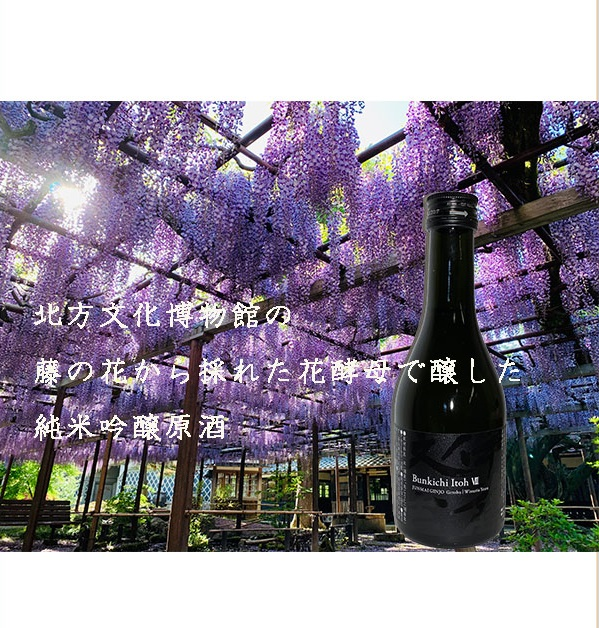 【藤の花のお酒】 純米吟醸原酒 八代 伊藤文吉 300ml 【数量限定】