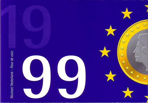 オランダ 1999年 6種 FDCセット