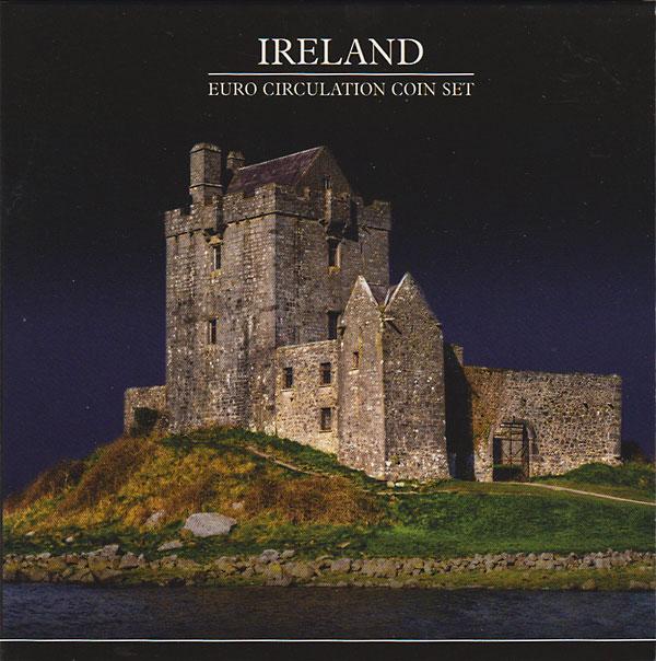 アイルランド 2002 ユーロコイン8種セット
