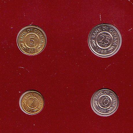 ガイアナ 4種