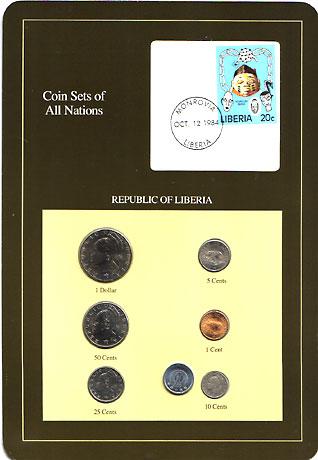 リベリア 6種