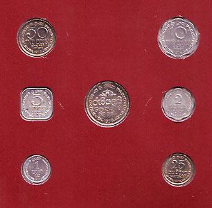 スリランカ 7種