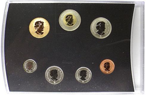 カナダ 2ドル試鋳貨入り7点セット 2011 UNC