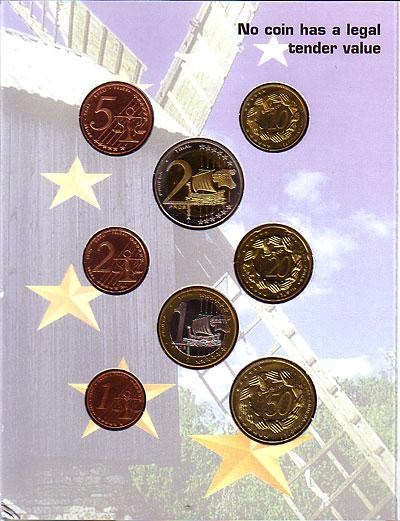 エストニア 2004 ユーロファンタジー試鋳貨 8種セット UNC