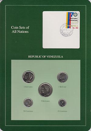 ベネズエラ 5種 -2