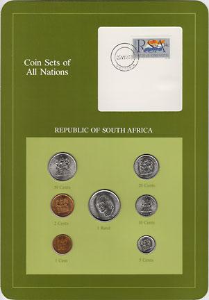 南アフリカ 7種 -4