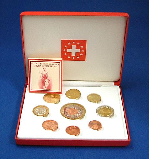 スイス 2003 ユーロファンタジー試鋳貨 9種セット Proof