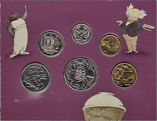 オーストラリア 2004 ベイビーミントセット 6種