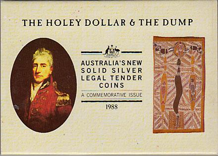 オーストラリア 1988 ホーリーダラーとダンプ Proof