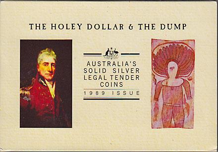 オーストラリア 1989 ホーリーダラーとダンプ Proof