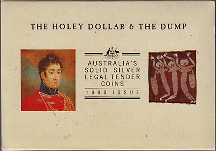 オーストラリア 1990 ホーリーダラーとダンプ Proof