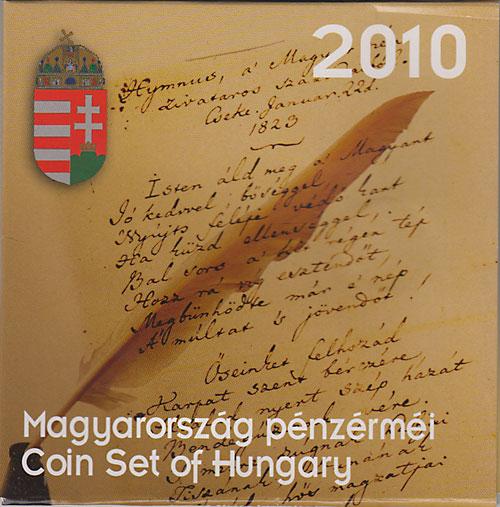 ハンガリー 2010 6種ミントセット