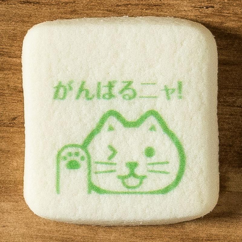 メッセージイラストクッキー がんばれ No.4