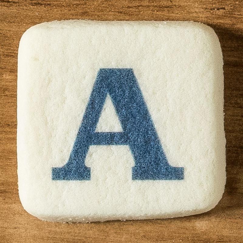 アルファベットクッキー A