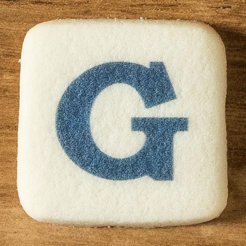 アルファベットクッキー G
