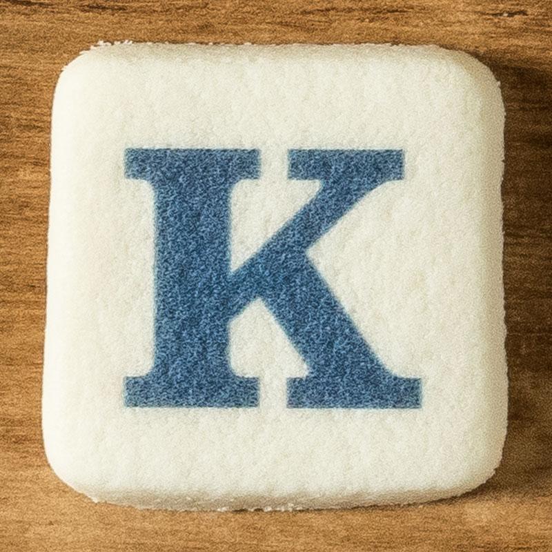 アルファベットクッキー K