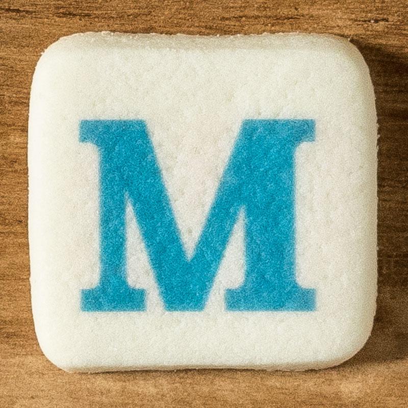アルファベットクッキー M