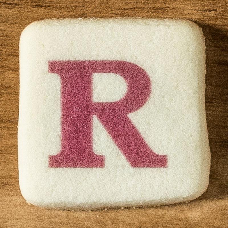 アルファベットクッキー R
