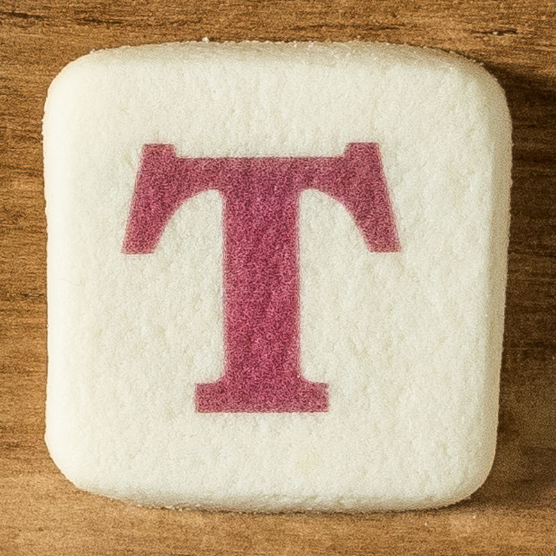 アルファベットクッキー T