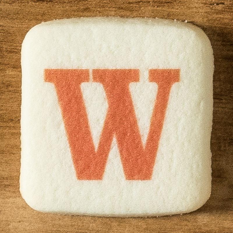 アルファベットクッキー W