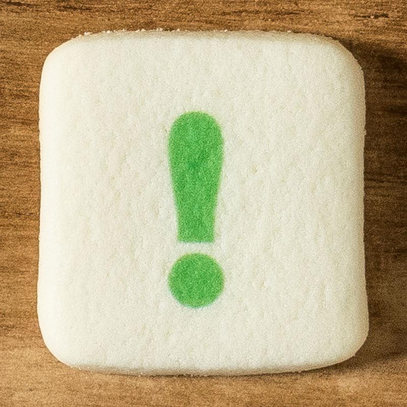 アルファベットクッキー !